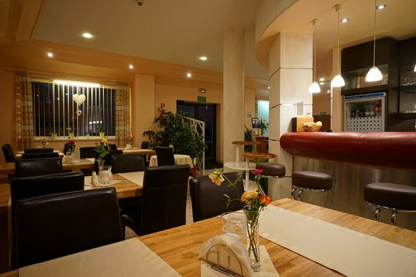 Bar hotelu Lubex w Lublińcu