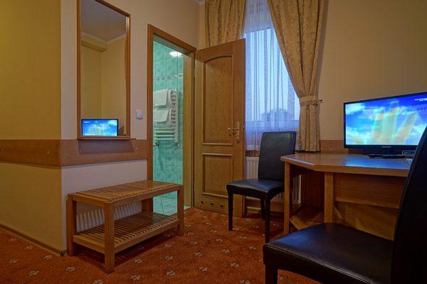 dwuosobowy pokój, hotel Lubex
