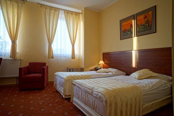 hotel Lubex w Lublińcu, widok pokoju