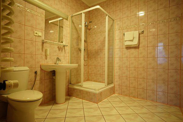 łazienka w hotelu Lubex, wnętrze
