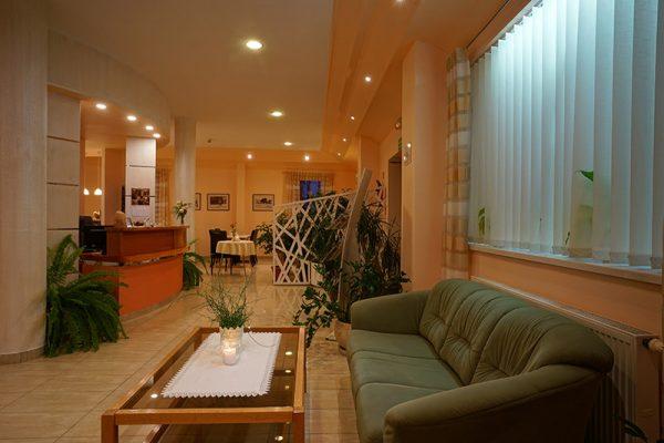 Wnętrze hotelu Lubex