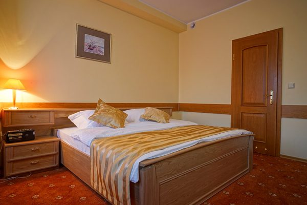 pokój dla dwóch osób, hotel Lubex, Lubliniec