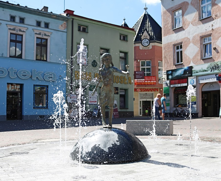 Pomnik centrum Lubliniec